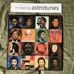 美盤 ザ・フー The Who 1981年 LPレコード フェイス・ダンス Face Dances 国内盤 Rock Pete Townshend Roger Daltrey