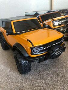 トラクサス TRX4 フォード ブロンコ 美品