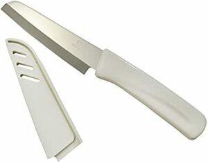 白 185mm 貝印 KAI フルーツナイフ Kai House Select サヤ付 日本製 DH7172