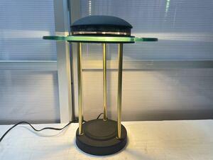 ☆【通電確認済】アンビライト 照明 AS-1015 AMBILIGHT ガラス ランプ アンティーク デスクランプ ☆