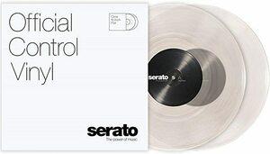 新品 10 Clear Serato Control Vinyl (10 Clear) 2枚組 セラ96ICKVAK