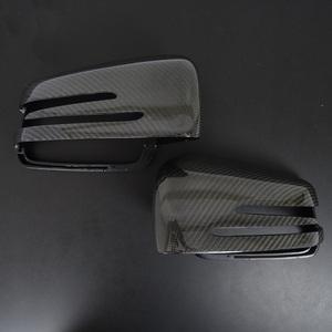 本格派♪ 高品質♪ 交換式♪ メルセデス ベンツ カーボン ドアミラー カバー X204 GLK300 GLK350 GLKクラス