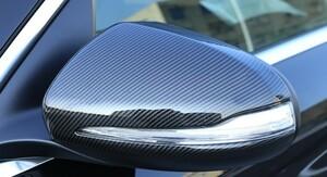 高品質♪ ドライカーボン♪ メルセデス ベンツ カーボン ドアミラー カバー X247 GLB200d GLB250 GLB35 4マチック スポーツ GLBクラス 右H