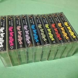 ファン必見★ビートルズ 全集 カセット 10本セット インドネシア版? コレクションに♪