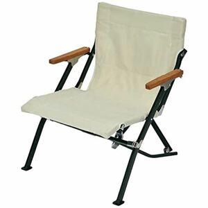 新品 スノーピーク チェア L直径w Chair ロー ショート : アイボリー (LV-093IV) snow peak