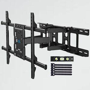 好評 新品 テレビ壁掛け金具 Pipishell L-M2 前後&左右&上下多角度調節可能 VESA600x400mm 大型 37-70インチ対応 ア-ム式