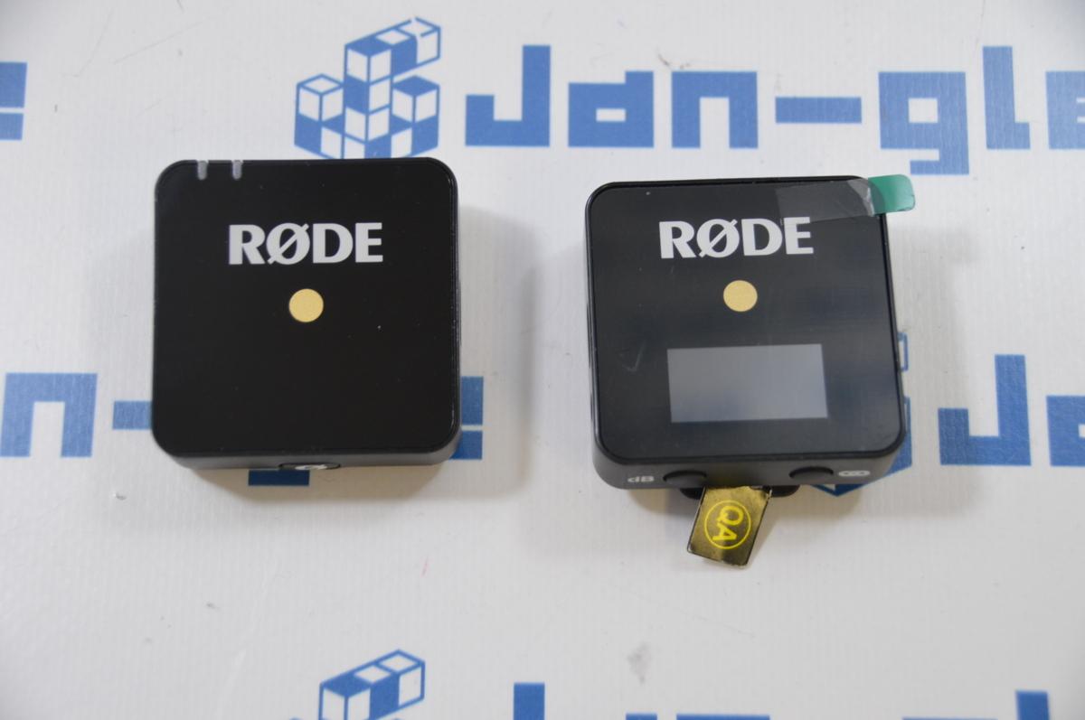 Ω 美品 RODE Microphones Wireless GO WIGO 格安1円スタート!! コンパクトで使いやすい!! この機会に是非!! 関西発送 J395088 B