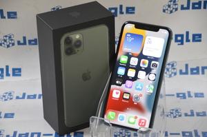 Ω 美品 Apple iPhone 11 Pro 256GB ミッドナイトグリーン MWCC2J/A 格安1円スタート!! この機会にぜひ!! 関西発送 J396536 G