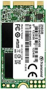 256GB Transcend SSD M.2 2242 256GB SATA III 6Gb/s 3D TLC NAND DD