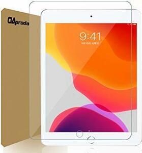 新品10.2インチ OAproda iPad 10.2 強化ガラス保護フィルム 旭硝子社素材 高透過率 指紋防止 2B7H2