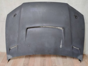 Mitsubishi CT9A Lancer Evolution VII evo 7 after market FRP made bonnet hood mat black mesh duct bon pin