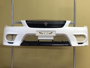 SXE10 アルテッツァ 純正 オプション フロントバンパー ネオカスタマイズ シロ