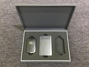 operation not yet verification Lexus LEXUS original smart key card key set box attaching A1 ①