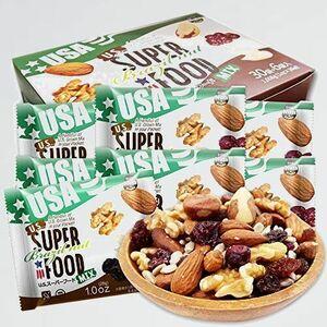 新品 目玉 US ミックスナッツ H-DS クランベリ-) 便利な小分けタイプ SUPERFOOD Brazil nut USス-パ-フ-ド 28g x36袋 箱入り