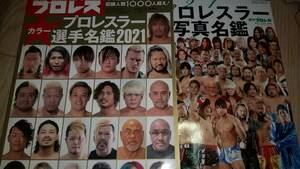 ★プロレスラー全身写真名鑑2021+カラー選手名鑑2021★