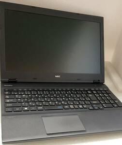 超高性能!NEC大尺寸ノートパソコン VK26HD  第六世代Corei7-6600搭載・8GB・SSD256GB・DVDマルチ・OFFICE2019・WIFI・Bluetooth 10114