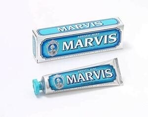 新品◎MARVIS(マービス)◆アクアティック・ミント(歯みがき粉)◆75ml