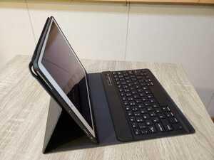 Apple iPad Air3 第3世代 64GB Wi-Fiモデル キーボード、ケース付き シルバー MUUK2J/A