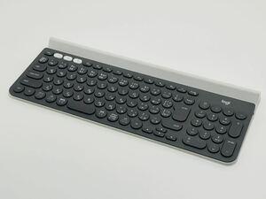【動作品】ロジクール K780 ワイヤレスキーボード マルチデバイス Bluetooth Unifying 日本語配列 Logicool