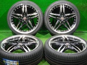 即納 新品タイヤ付 225/35R19 ノア ヴォクシー エスクァイア セレナ ラフェスタ ステップワゴン アコード アテンザ アクセラ などにも