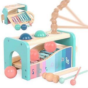 【残1点】 Jecimco 音楽おもちゃ 子供 パーカッション セット 早期開発 知育玩具 男の子 女の子 誕生日のプレゼント オクターブ