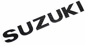 カーボン ジムニー JB23 JB64カーボンシート バックドア エンブレム ロゴ「SUZUKI」