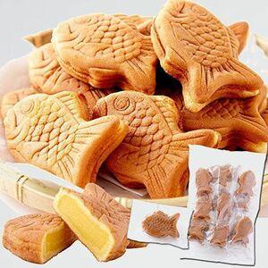 新品 未使用 天然生活 多田製菓 7-V1 スイ-ツ (クリ-ム) もっちりたい焼き ミニ鯛焼き 和菓子 個包装 おやつ 常温