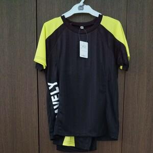 新品 未使用 150 キッズ 半袖Tシャツ ハーフパンツ スポーツ 上下セット セットアップ トレーニングウェア