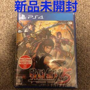 【PS4】 戦国無双5 [通常版] 初回特典付き 新品未開封