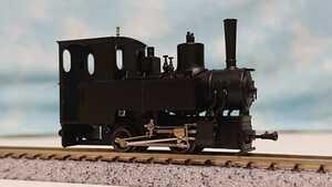 ワールド工芸 井笠鉄道1号機コッペル蒸気機関車 HOナロー1/87 9㎜完成品 動力装置整備点検済み ナンバープレート未使用 美品
