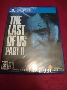 【新品/未開封】THE LAST OF US PART2 PS4ソフト