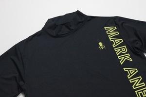 MARK&LONA マーク&ロナ 4方向ストレッチ ゴルフシャツ タートル XLサイズ GOLF OR DIE 長袖