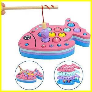 【厳選商品】 2 3 男の子 4 女の子 5 マグネット釣り 6 パズル 7 歳 積み木 おもちゃ 知育玩具 誕生日 人気 こどもの日 モンテッソーリ