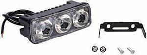 12Vオートバイ用 防水ヘッドライトバイク用LED 汎用 LED ウインカー 外置きLEDフォグランプ