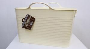 フリーバケツ サイズ/M カラー/バニラ 防水ボックス 日本製