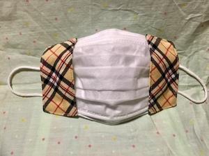 【新品、未使用】【試作品】【お得】ハンドメイド・不織布マスクを入れて使うマスクカバーです