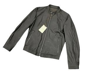 定価282700円 新品■ALTACRUNA 21SS Reversible Leather Jacket リバーシブル レザー ジャケット シングル ライダース アルタクルーナ■42