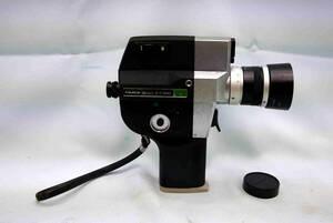 フジカシングル8 4倍ズーム8ミリカメラ  FUJICA Single-8 P400 レンズ・フィルム室きれい 動作確認 露出計&ズーム動作