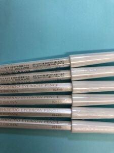 SHISEIDO 眉墨鉛筆3番ブラウン アイブロウペンシル 6本