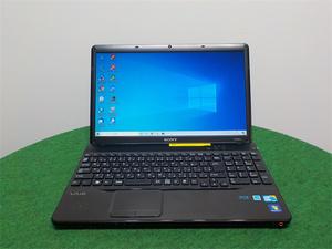 カメラ内蔵/15型/ノートPC/Windows10/新品SSD256GB/4GB/COREi5 M450/リカバリー領域/SONY VPCEB29FJ 新品無線マウス office搭載
