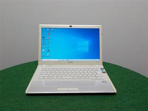 カメラ内蔵/中古/14型/ノートPC/Win10/500GB/4GB/P8700/G210M/リカバリー領域/SONY VPCCW18FJ G210M office搭載 動作良品