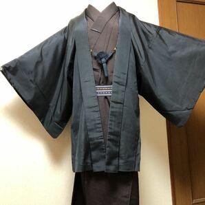 男性用 男着物 メンズ 紳士 羽織 羽織物 ジャケット カーディガン として リメイク リフォームにも 昭和レトロ モダンレトロ