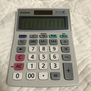 カシオ電卓 MW-10A