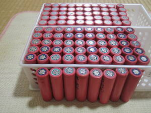 18650 リチウム電池 1500mAH サンヨー製 100本セット
