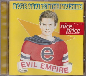 RAGE AGAINST THE MACHINE / レイジ・アゲインスト・ザ・マシーン / EVIL EMPIRE /EU盤/中古CD!!49309