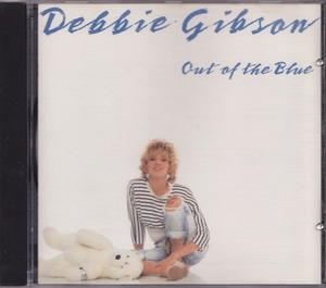 DEBBIE GIBSON / デビー・ギブソン / OUT OF THE BLUE /US盤/中古CD!!49292