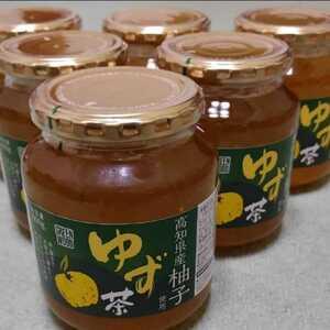 新品未開封*高知県産柚子使用 ゆず茶 600g×6瓶