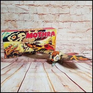 out of print unused tin plate zen my Mothra bili ticket association Godzilla higashi Treasure Box
