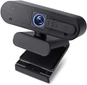 Webカメラ ウェブカメラ USBカメラ フルhd 1080p 30fps プライバシー保護カバー マイク内蔵 オートフォーカス 200万画素 自動光補正