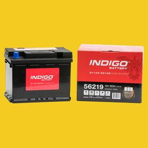 【インディゴバッテリー】56219 MINI R52 コンバーチブル GH-RF16 互換:PSIN-6C,LN2 輸入車用 新品 保証付 即納